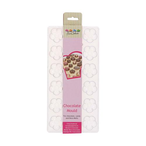 Funcakes Schokoladenform Praline - Blume