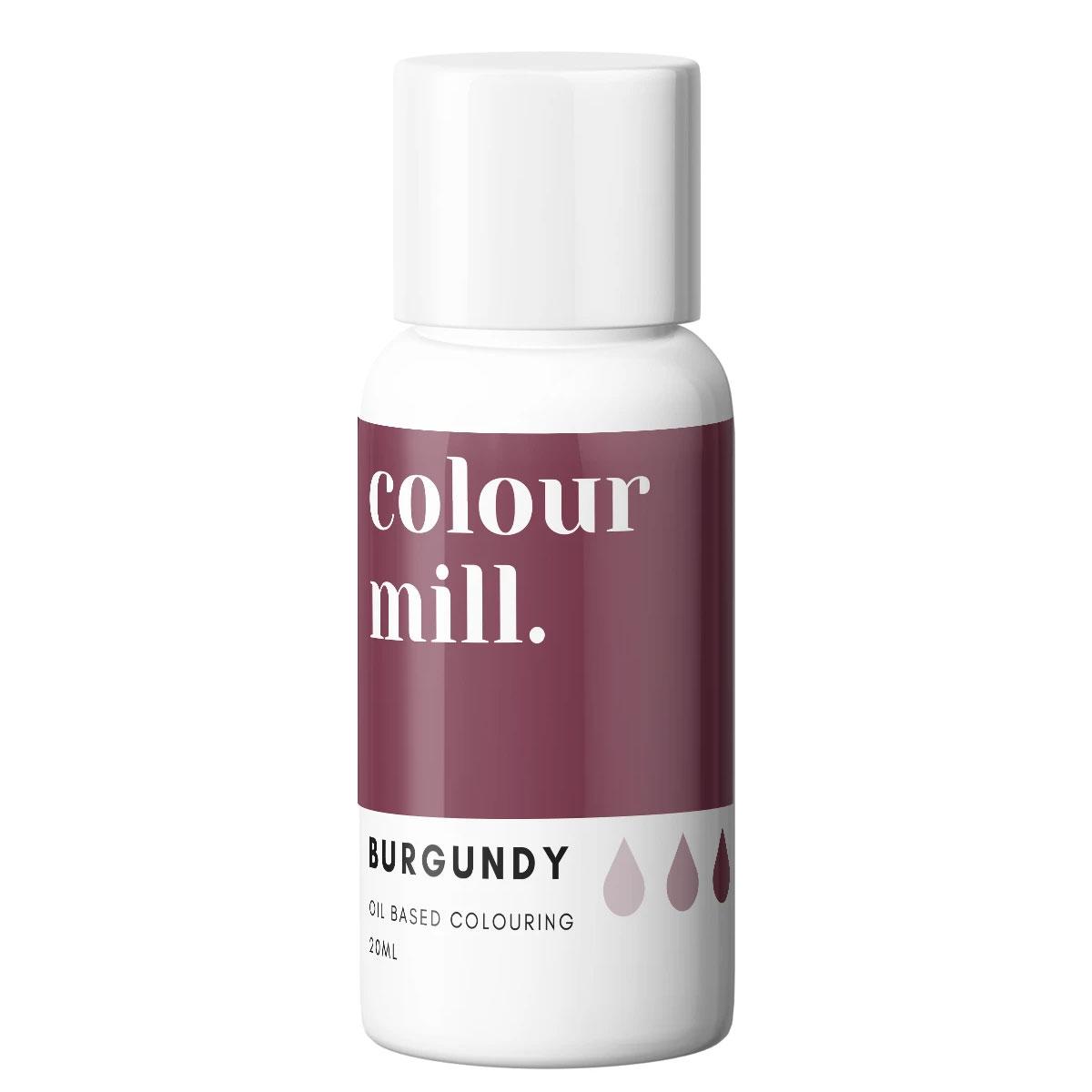 Colour Mill fettlösliche Lebensmittelfarbe - Burgundy 20ml