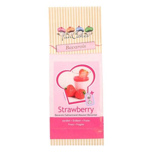 Funcakes Mix für Sahnestand - Erdbeere 150g