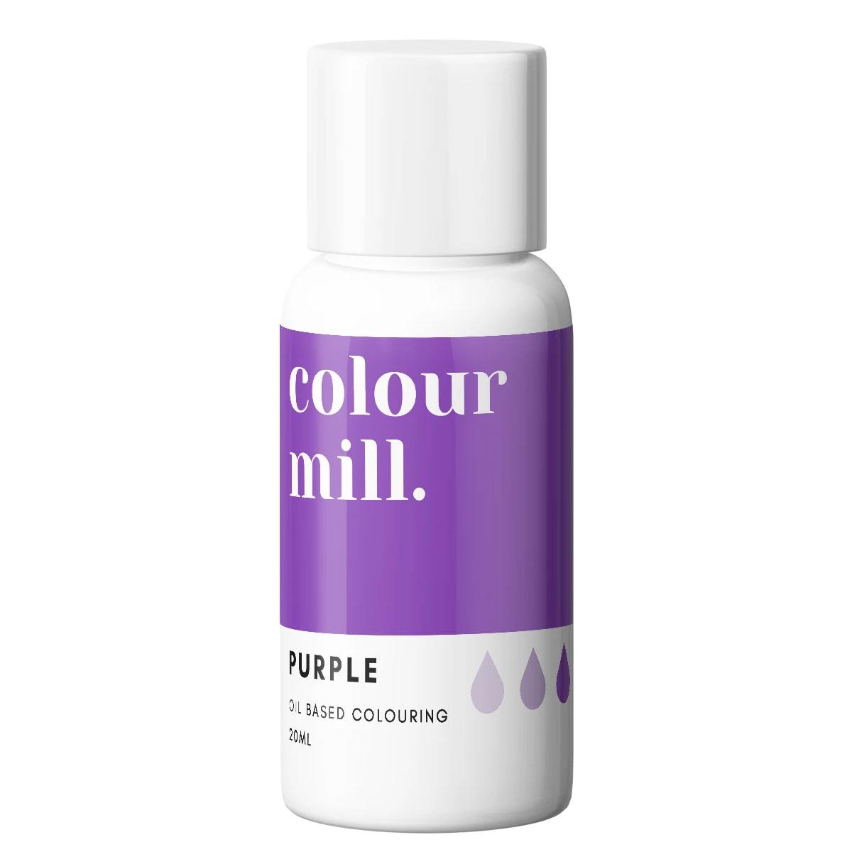 Colour Mill fettlösliche Lebensmittelfarbe - Purple 20ml