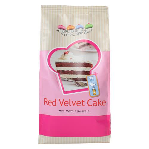 FunCakes Mix für Red Velvet Cake 1Kg