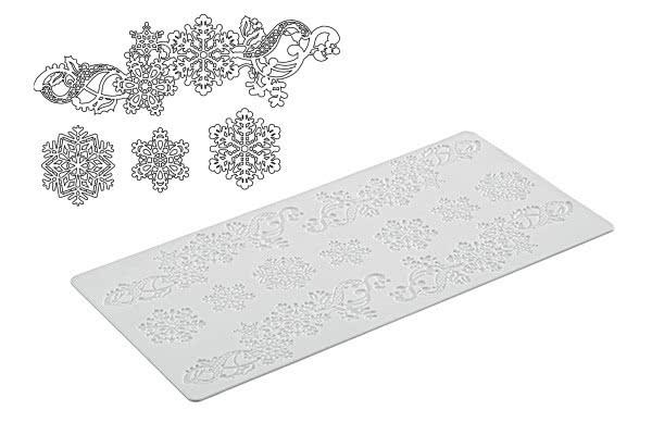 Tricot Decor Snowflake Silikonmatte