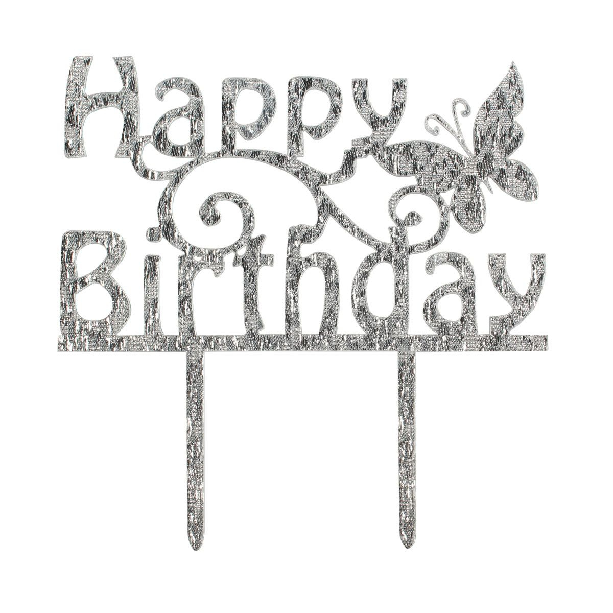 Cake Star Cake Topper - Happy Birthday