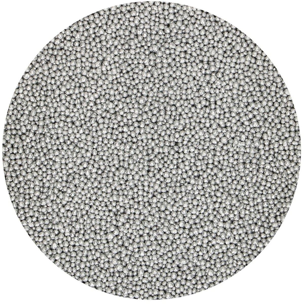 Funcakes Nonpareils Zuckerperlen - Silber 80g