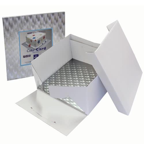 PME Cake Box + Cake Board Square 30cm
