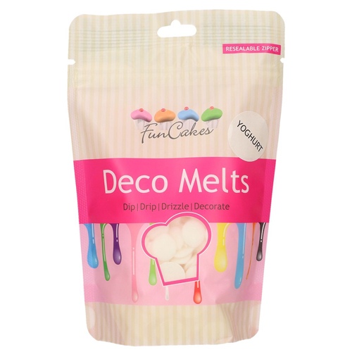 Funcakes Deko Melts - Joghurtgeschmack 250g