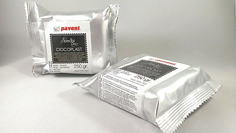 Modellierschokolade 250g Schwarz