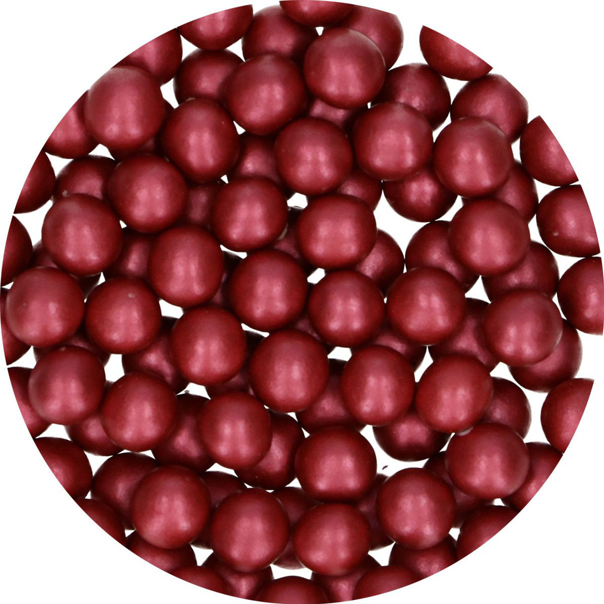 FunCakes Candy Choco Pearls Large Bordeaux 70g