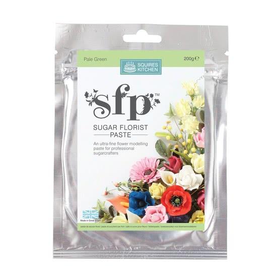 SK Blütenpaste Zartgrün, 200g