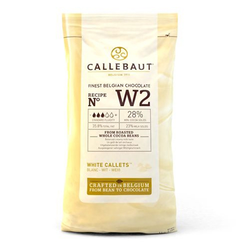 Callebaut Chocolate Callets -White- 1 kg