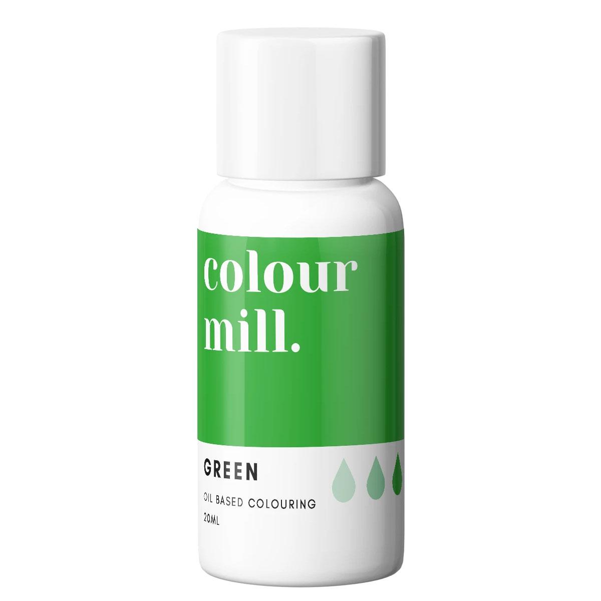 Colour Mill fettlösliche Lebensmittelfarbe - Green 20ml
