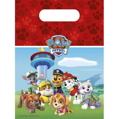 6 Party- Tütchen Paw Patrol