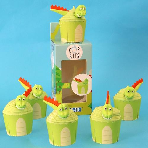 Cupkits - Cupcake Dekorationsset Dinosaurier