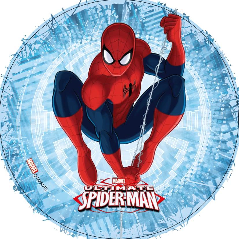 Tortenaufleger Esspapier  - Spider Man Motiv 1