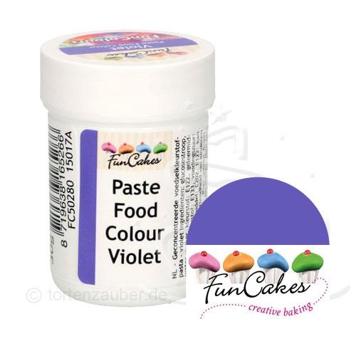 Funcakes Funcolours Pastenfarbe - Violet 30g