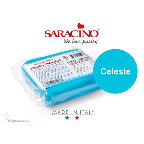Saracino Modellierpaste - Hellblau / Celeste 250g