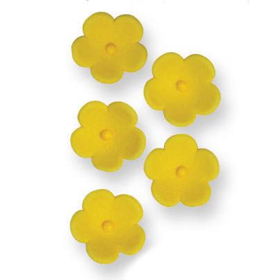 MHD 25/5/21 PME Zuckerdeko Medium Yellow Blossom 30Stück