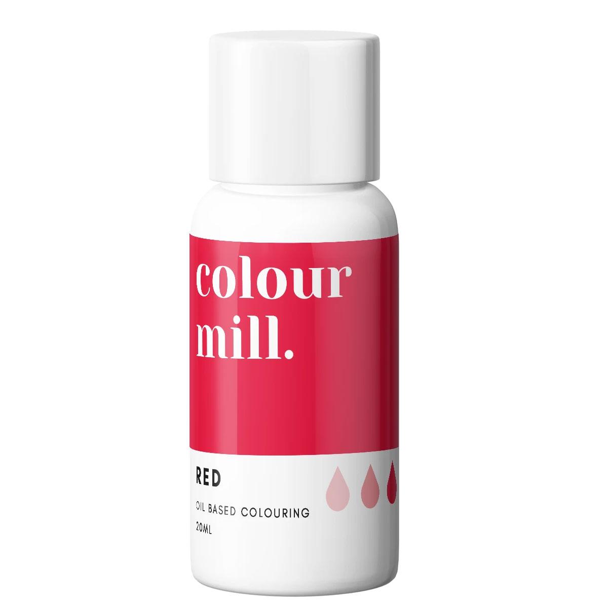 Colour Mill fettlösliche Lebensmittelfarbe - Red 20ml