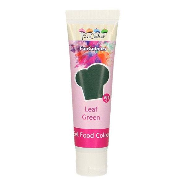 FunCakes Edible FunColours Gel - Leaf Green