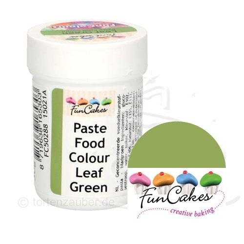 Funcakes Funcolours Pastenfarbe - Leaf Green 30g