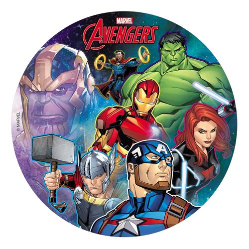 Dekora Tortenaufleger Oblade - Avengers