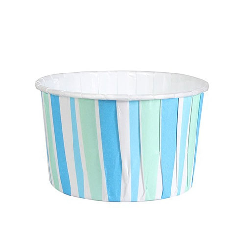 Culpitt Baking Cups - Blue Stripe 24 Stk