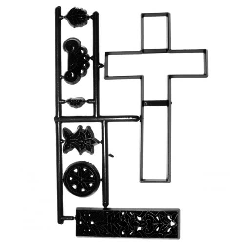 Patchwork Cutter Large Cross & Lace - Kreuz