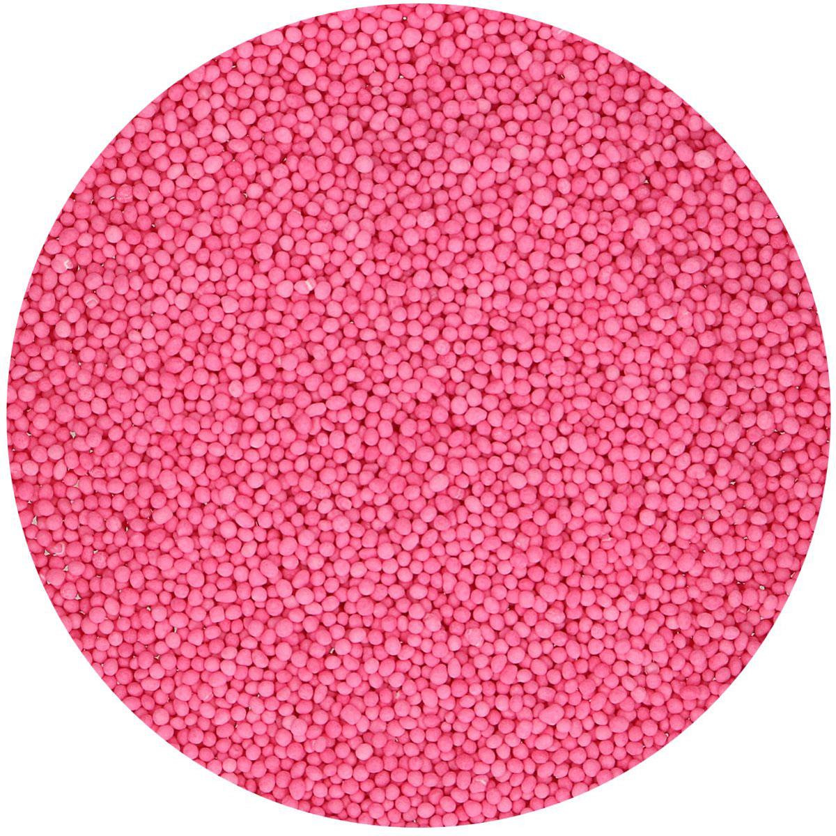 Funcakes Nonpareils Zuckerperlen - Pink 80g
