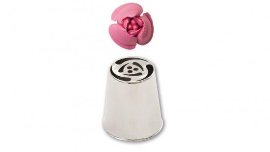 Spezial- Spritztuelle Garniertülle Nr.242 - Rose
