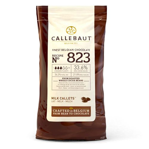 Callebaut Chocolate Callets -Milk- 1 kg