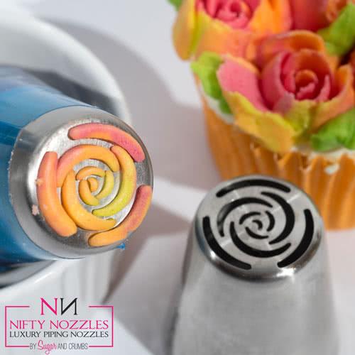 Sugar and Crumbs Nifty Nozzle - 10 Petal Rose