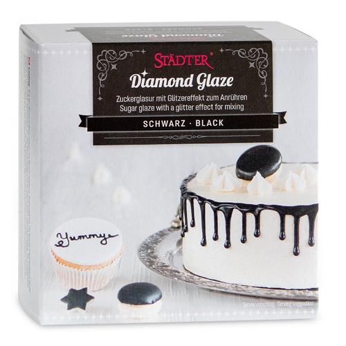 Städter Zuckerglasur - Diamond Glaze Schwarz