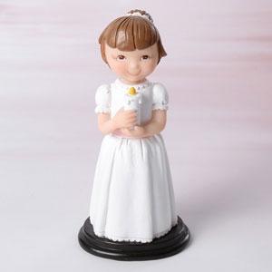 Dekorative Tortenfigur Kommunion - Mädchen