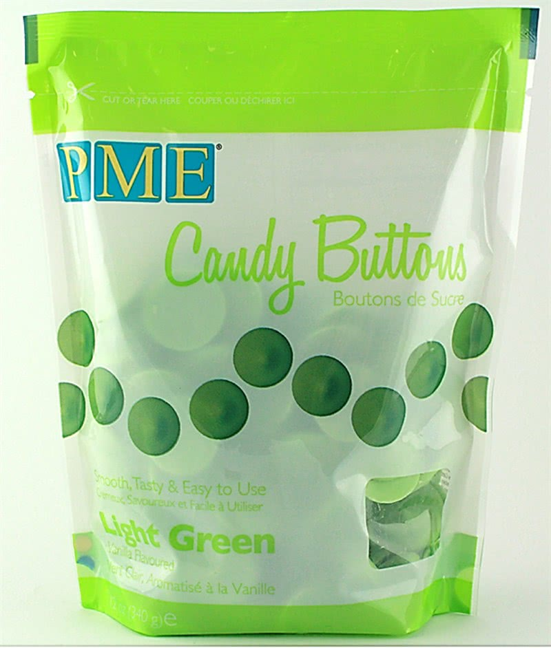 PME Candy Button Light Green