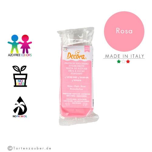 Decora Pasta di Zucchero - Fondant Rosa 100g