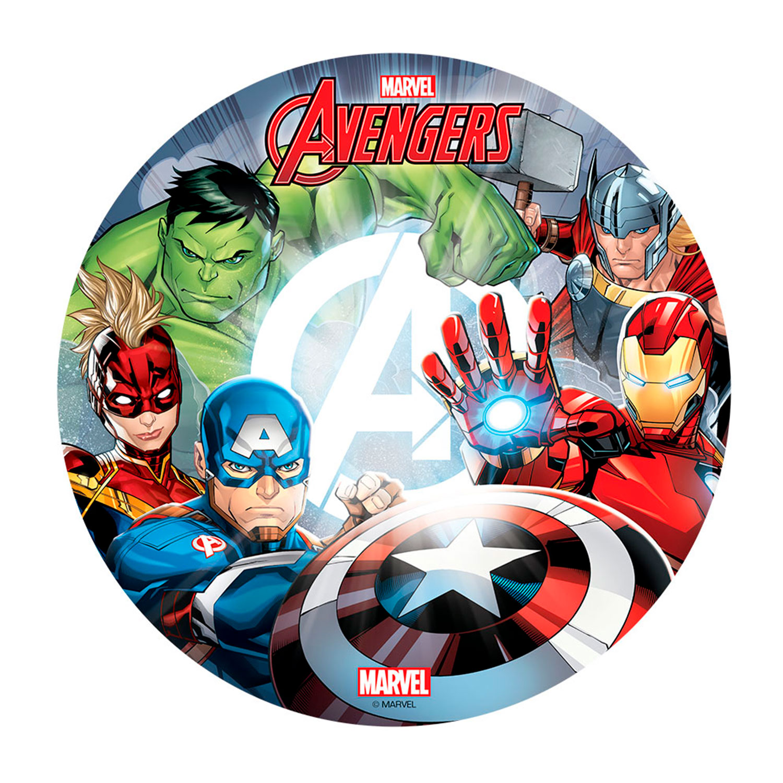 Dekora Tortenaufleger Esspapier - Avengers Superhelden