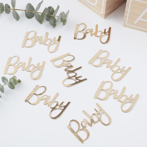 "Ginger Ray Tischkonfetti ""Oh Baby""- Gold"