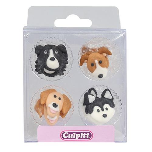 Culpitt Zuckerdekoration Hunde