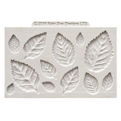 Katy Sue Mould - Silikonform Rose Leaves