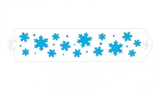 Decora Schablone Frozen Star  7 x 30cm