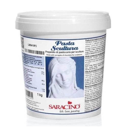 Neu! Saracino Pasta Skulptura - Modellierpaste für Skulpturen 1 Kg