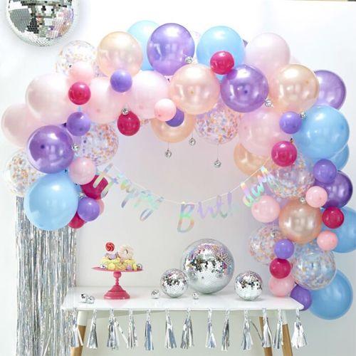 Ginger Ray Ballonbogen / Ballongirlande Set Pastell