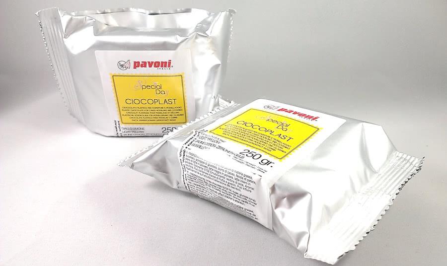 Modellierschokolade 250g gelb