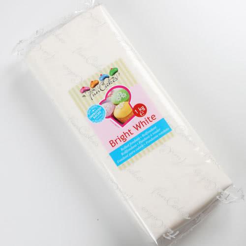 Funcakes Fondant Bright White -  1Kg