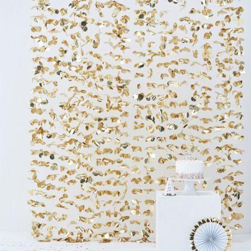 Ginger Ray Hintergrund Blumenvorhang - Gold