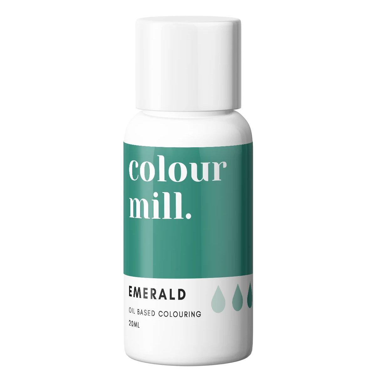 Colour Mill fettlösliche Lebensmittelfarbe - Emerald 20ml