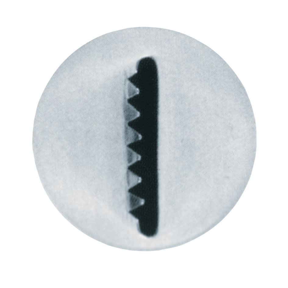 Sternbandtülle, glatt/gezackt 16mm