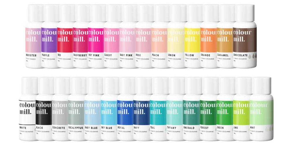 Kategorie Colour Mill fettloesliche Lebensmittelfarbe