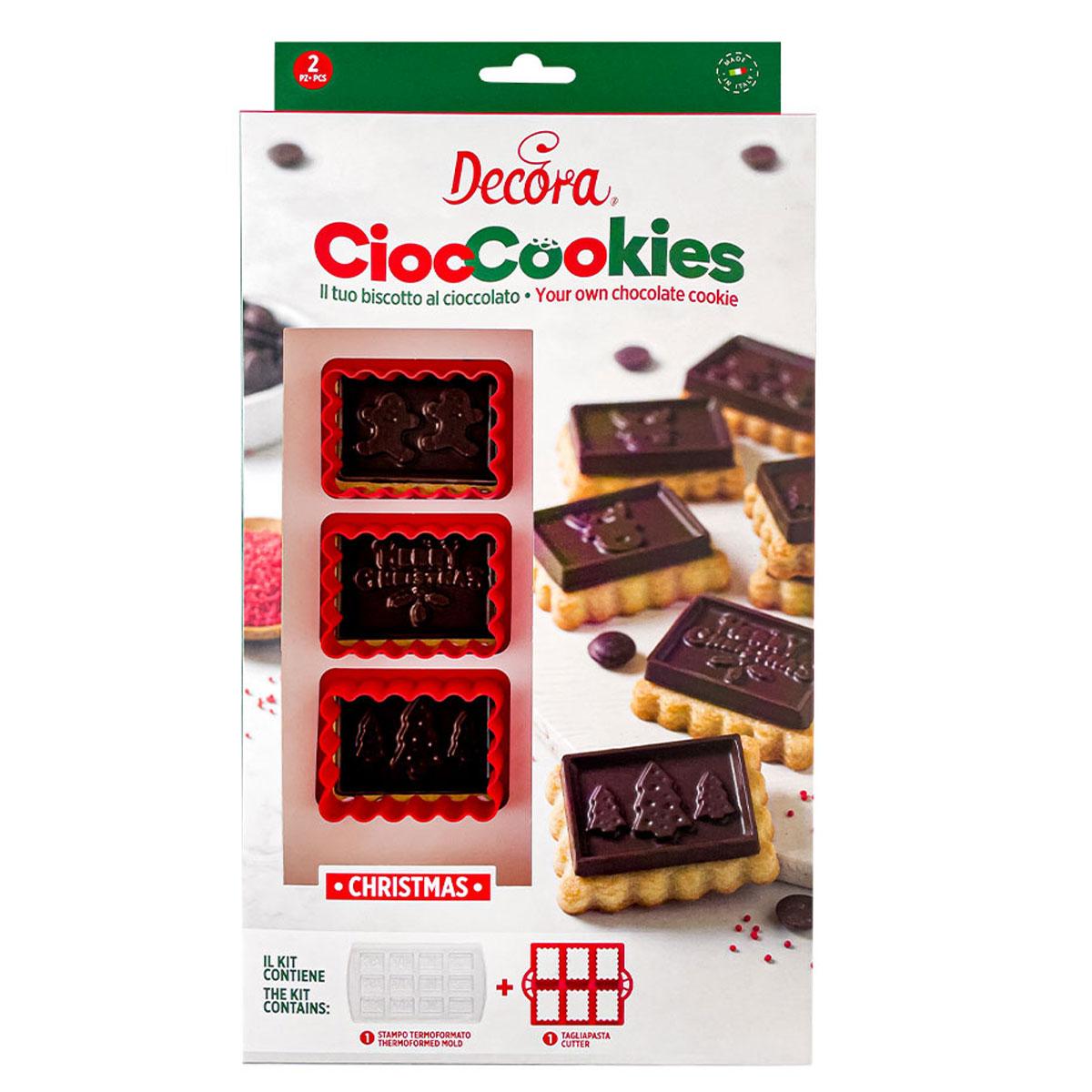 Decora Cioc Cookies Set - Weihnachten