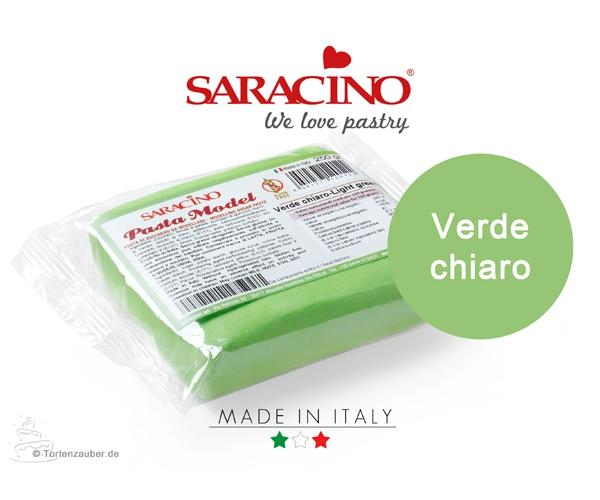 Saracino Modellierpaste - Hellgrün 250g